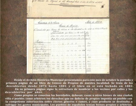 Archivo Histórico – Documento del mes
