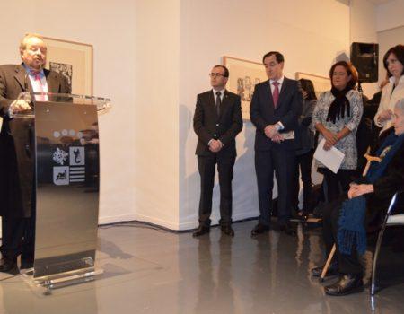 """Inaugurado el espacio cultural """"Rufino Mendoza"""" con una exposición de grabados y litografías de Solana"""