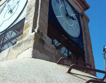 Se ha automatizado el reloj de la torre de la parroquia de la Asunción