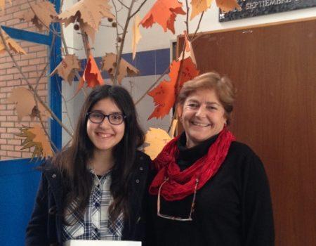 La alumna Carlota Otones del IES San José gana una beca de la Fundación Amancio Ortega