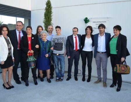 Juan Hidalgo da nombre al nuevo pabellón multiusos del recinto ferial