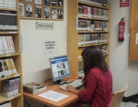 La biblioteca Felipe Trigo ofrece a los usuarios el servicio de préstamo digital