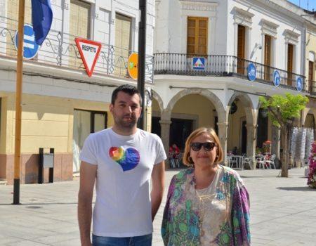 """""""Señales para los nuevos tiempos"""", exposición de la Fundación Triángulo en la plaza de España"""