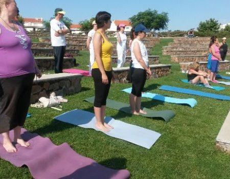 Durante el mes de julio, todos los martes habrá clases de iniciación al yoga