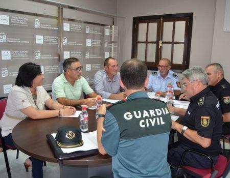 Celebrada la junta de seguridad ciudadana para el dispositivo de las fiestas patronales