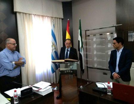 Manuel Fernández Vacas, toma posesión de su acta de concejal