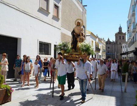 Un año más, miles de villanovenses y visitantes disfrutan de las fiestas de Santiago y Santa Ana