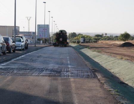 Comienza el plan de asfaltado en varias calles de la localidad