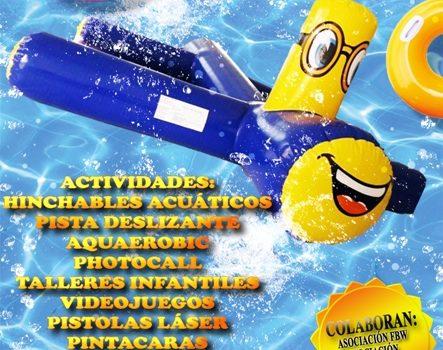 """El viernes 28 de agosto se celebrará la segunda """"Fiesta del Agua"""" del verano"""
