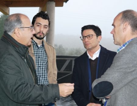 El director general de Medio Ambiente visita el centro medioambiental José Luis Pérez Chiscano y la finca municipal Quinto Coto