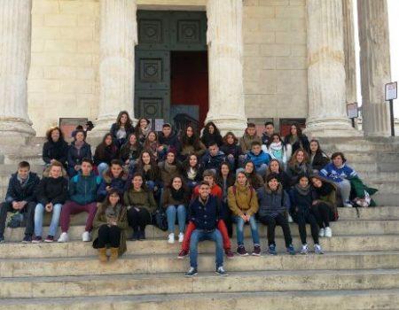 37 alumnos del IES Pedro de Valdivia participan en  un intercambio en Nimes