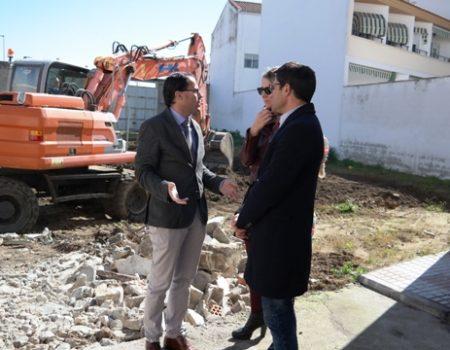 Continúan a buen ritmo las obras de mejora que se están realizando en el Barrio Nuevo