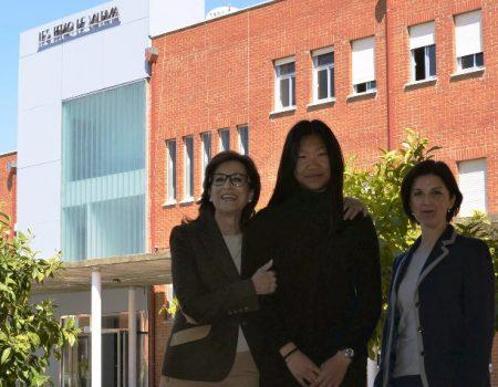 """Mª Victoria Pino Tejeda, alumna del IES Pedro de Valdivia, ha sido ganadora de la beca """"Agustín Prado"""""""
