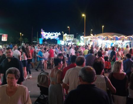 Comienzan las fiestas de Santiago y Santa Ana 2016 con masiva participación ciudadana