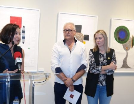 Maters-Matris, titulo de la exposición de Miguel Sansón que puede verse hasta final de mes