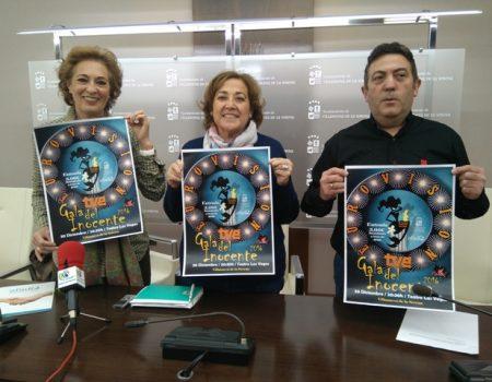 El próximo día 30 de diciembre, la sexta Gala Inocente de Alahora Producciones