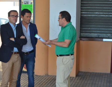 El alcalde anuncia la remodelación de la estación de autobuses con una inversión de 450.000 euros