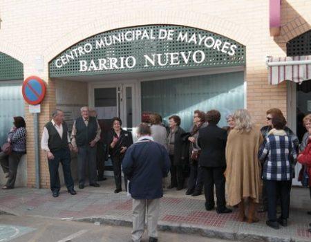 El centro de mayores del Barrio Nuevo celebra su segundo aniversario