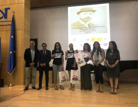 Entregados los premio Felipe Trigo de relato de relato breve en Timisoara
