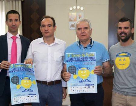 El torneo de pádel Daniel Romero Pino llega a su novena edición