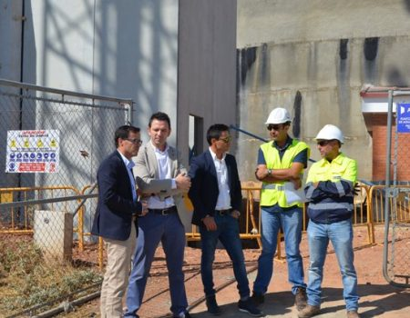 El nuevo depósito auxiliar de agua estará operativo en poco más de un mes