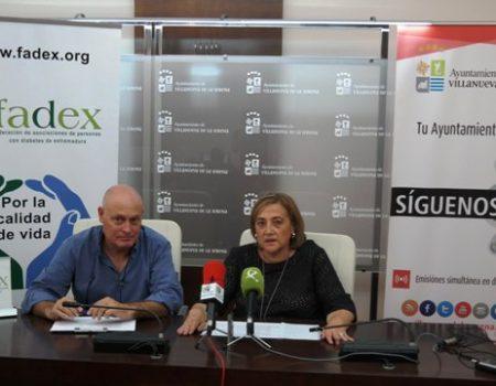 """Fadex celebra su """"Jornada de educación en diabetes para familias 2017""""  en Villanueva de la Serena"""