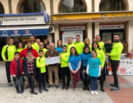 La Asociación Deportiva Milleros Serones dona 1.000€ a Cáritas y a la AECC