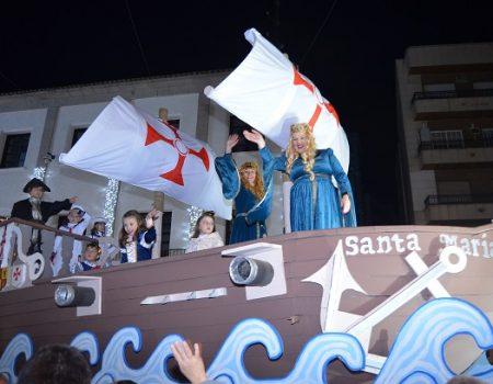 Catorce colectivos y varios pasacalles desfilarán el próximo 5 de enero en la tradicional Cabalgata de Reyes