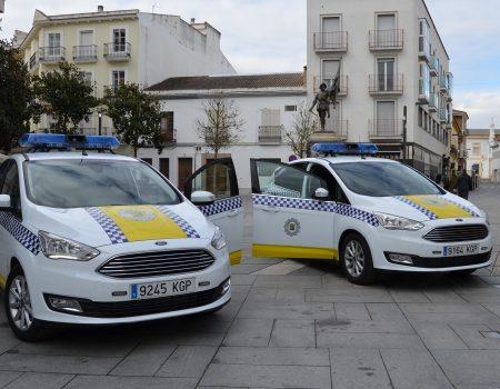 Presentados dos nuevos vehículos policiales.