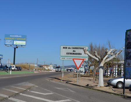 El lunes 5 de marzo, se corta temporalmente el tráfico en un tramo de la carretera de Guadalupe
