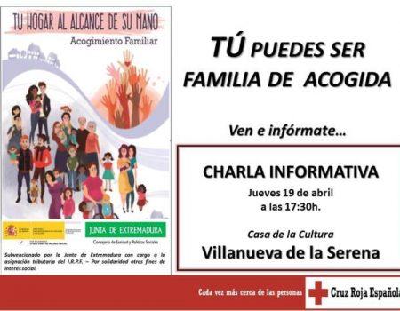 El jueves 19, charla informativa sobre la campaña de acogimiento familiar de menores