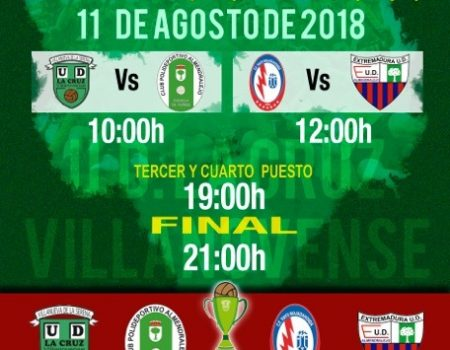 "La UD La Cruz Villanovense disputará la XXXVIII Cuadrangular ""Ciudad de la Serena"""