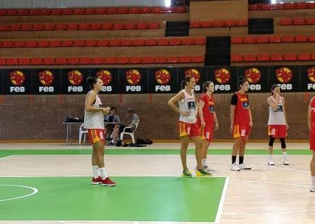 Este martes 4, entrenamiento abierto al público de la Selección Española Femenina de Baloncesto