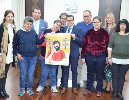Inclusives Villanueva presenta en el Ayuntamiento la campaña #Quenotequepaduda