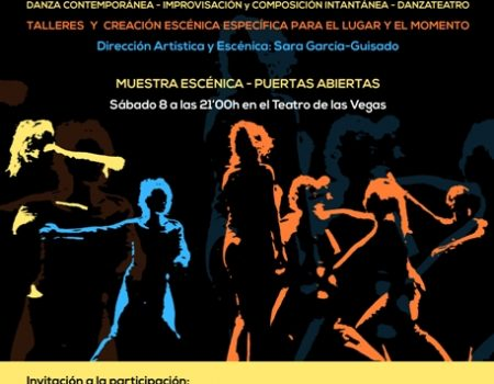 """El Teatro Las Vegas acogerá la primera edición de """"Danzavecina"""""""