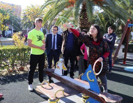 Finaliza la Semana de la Discapacidad con el tradicional concurso de petanca, yinkana y juegos de mesa