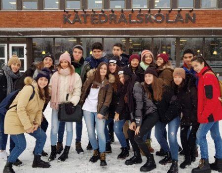 Un año más, alumnos de bachillerato del IES Pedro de Valdivia participan en un intercambio con alumnos suecos