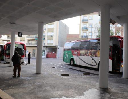 La estación de autobuses amplía su horario de atención al público