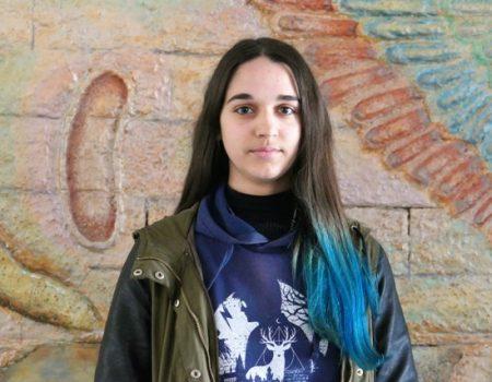 Andrea Gil, alumna del IES Pedro de Valdivia estudiará el próximo año en Canadá