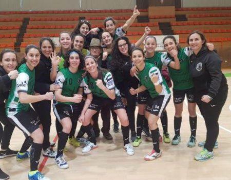Primer derbi extremeño en la Segunda División Nacional de fútbol sala femenino en Villanueva de la Serena