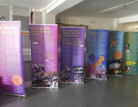 Hasta el día 22, exposición de Médicos Mundi en el instituto Pedro de Valdivia