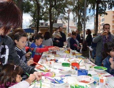 Actos religiosos y diversas actividades en las Fiestas de la Santa Cruz