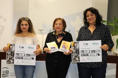"""Mujeres con discapacidad participan en la exposición fotográfica """"Yo, tú, ellas"""""""