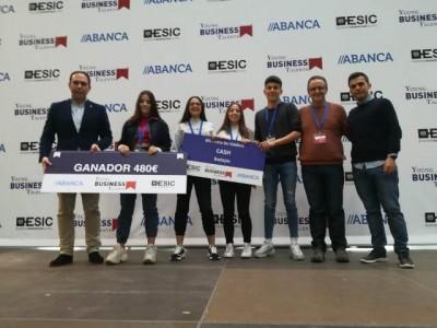 4 alumnos del IES Pedro de Valdivia ganan la simulación número 12 del concurso Young Busines Talents 2019
