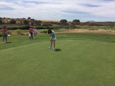 Con un torneo, se clausura la Escuela de Golf adaptado