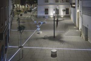 Proyecto corredor San Benito-Plaza de España-Parque de la Const