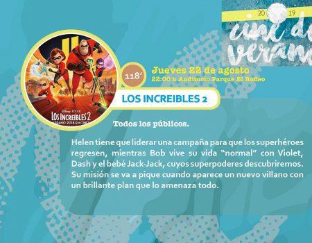 """Cine de verano. """"Los Increíbles 2"""""""