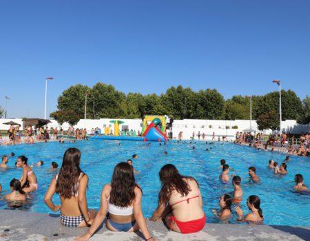Éxito en la novena fiesta del agua