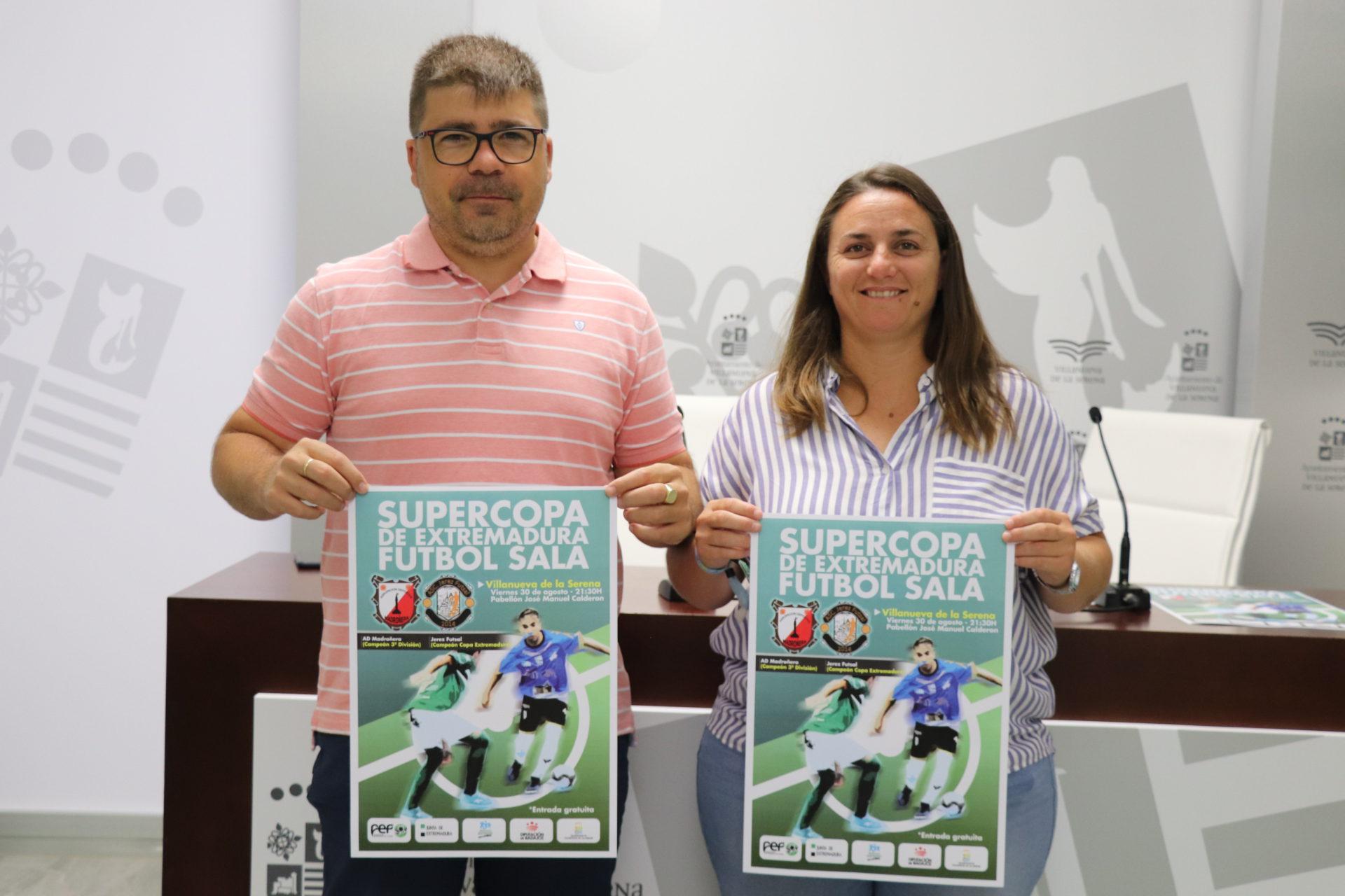 La Supercopa de Extremadura de Fútbol Sala se disputará el día 30