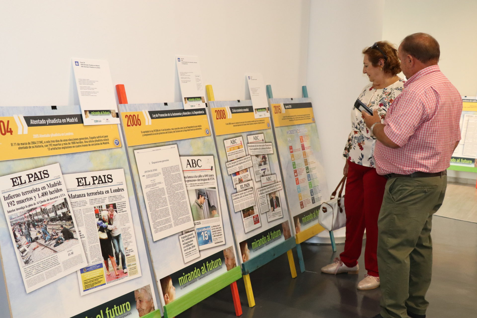 """La exposición itinerante """"Mirando al futuro"""" llega al Espacio Cultural Rufino Mendoza"""